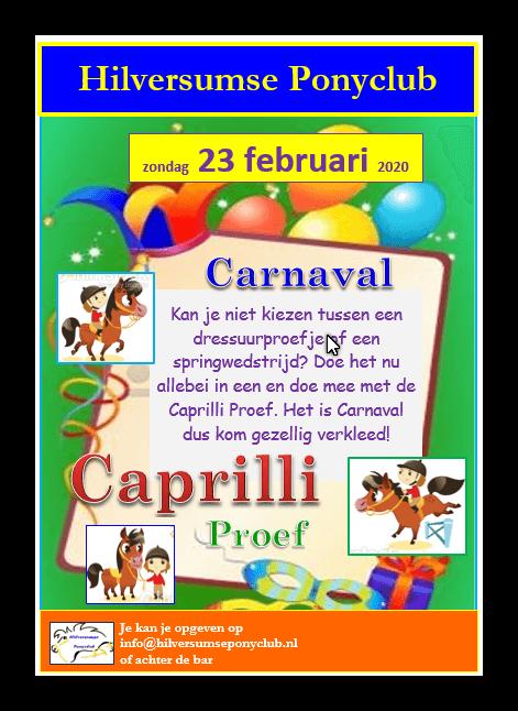 Carnaval Caprilli 2020