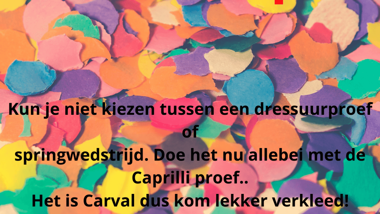 Carnaval Caprilli 2022
